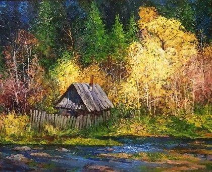 Осень на р. Колослейка.